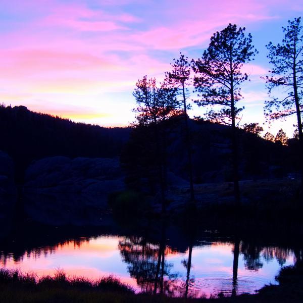 Sylvan Lake Sunset