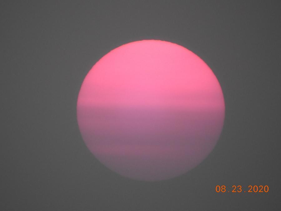 Sun Setting Over Rapid City