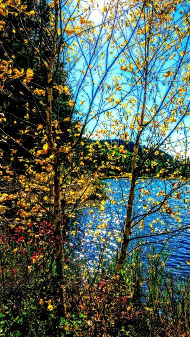 Fall at Iron Creek Lake