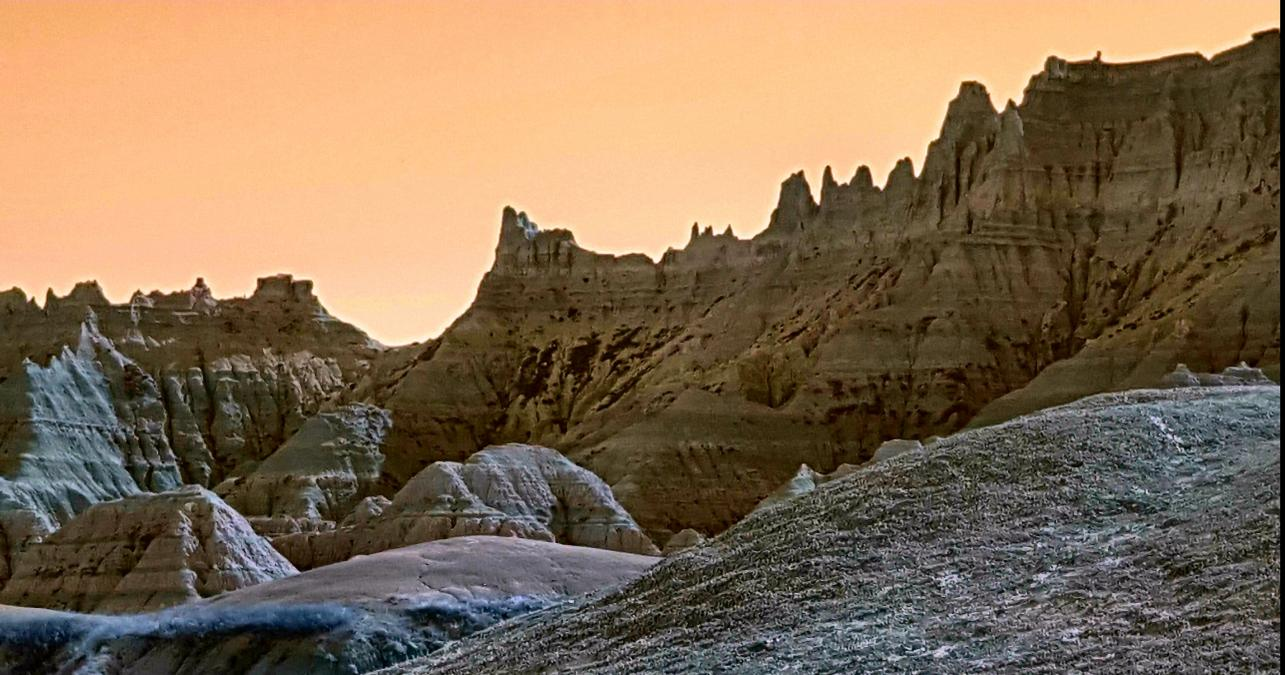 Golden Hour in Badlands