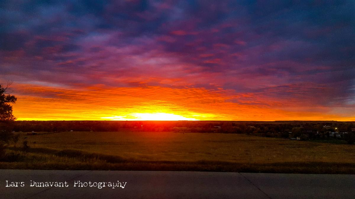 Sunrise Over Beautiful Forks