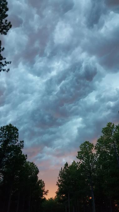 Storm Clouds Over Stockade Lake