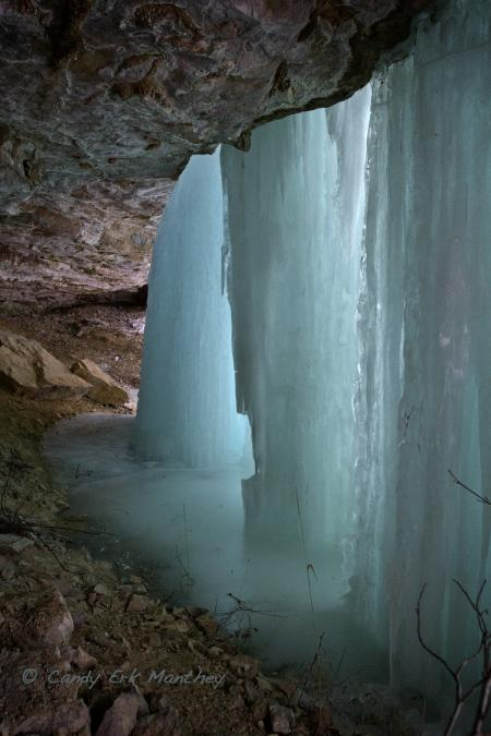 Inside Baker's Cave
