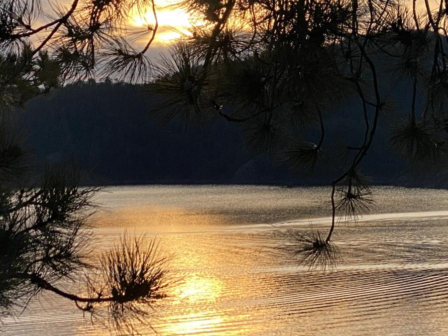 Sunset over Pactola