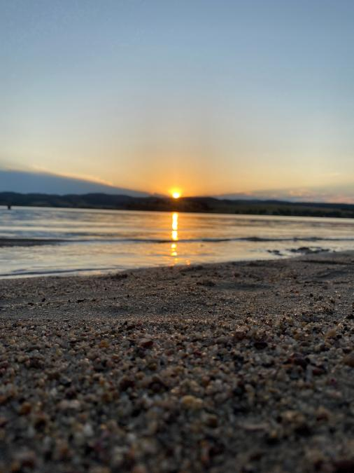 Sunset at Angostura