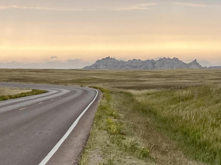 Early Morning in the Badlands