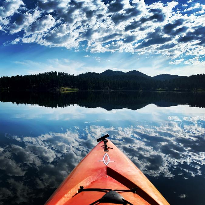 Kayaking in the Clouds