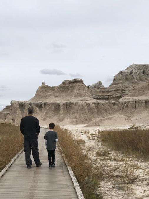 Father and Son, Badlands