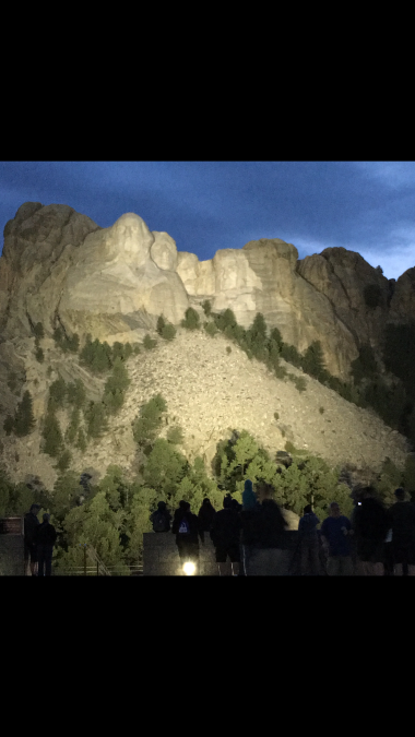 Rushmore at Dusk