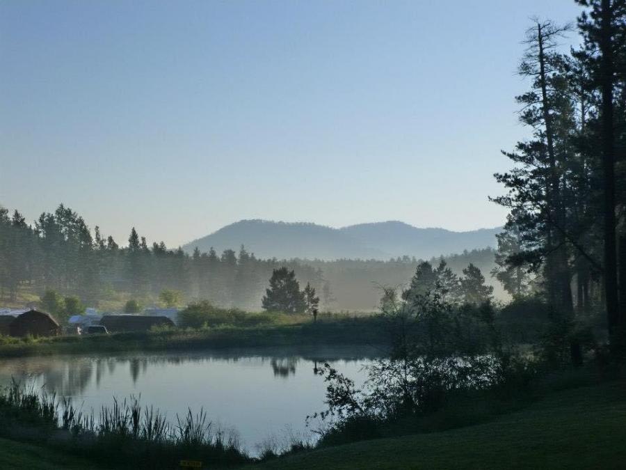 Sunrise Mountain Mist