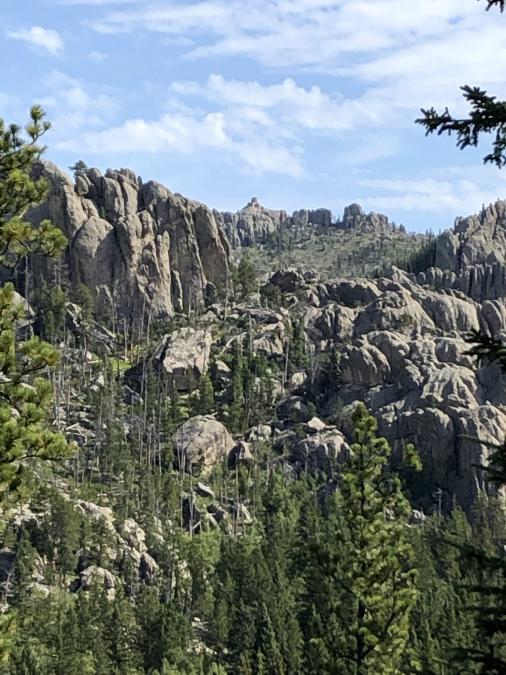 Hiking to Black Elk Peak