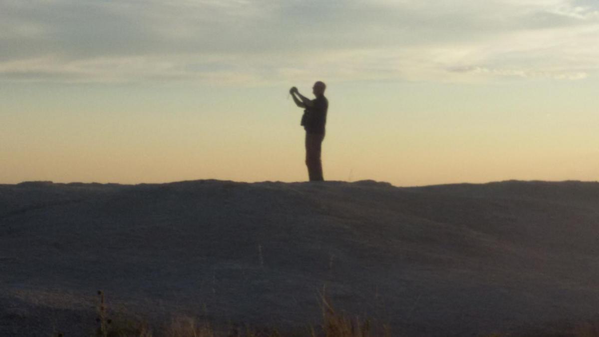 Capturing a Badlands Sunset