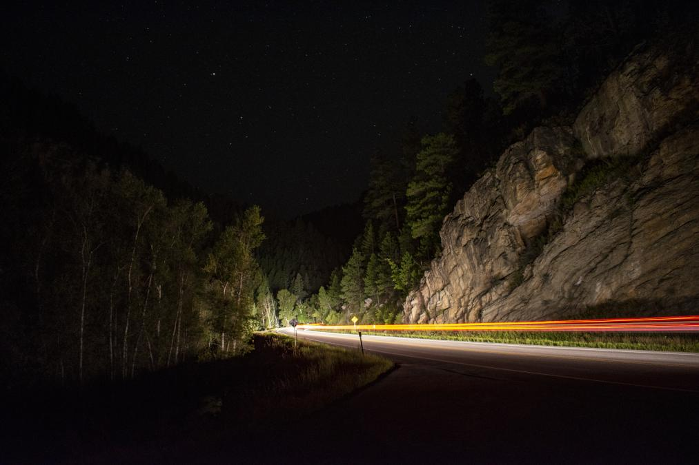 Canyon Night Lights
