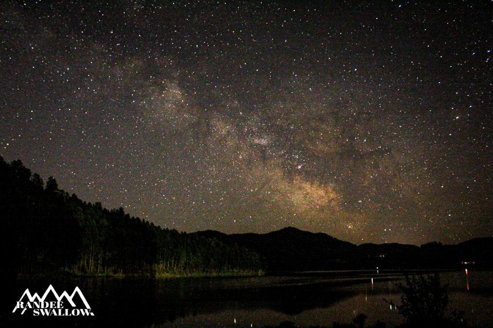 Milky Way at Sheridan Lake