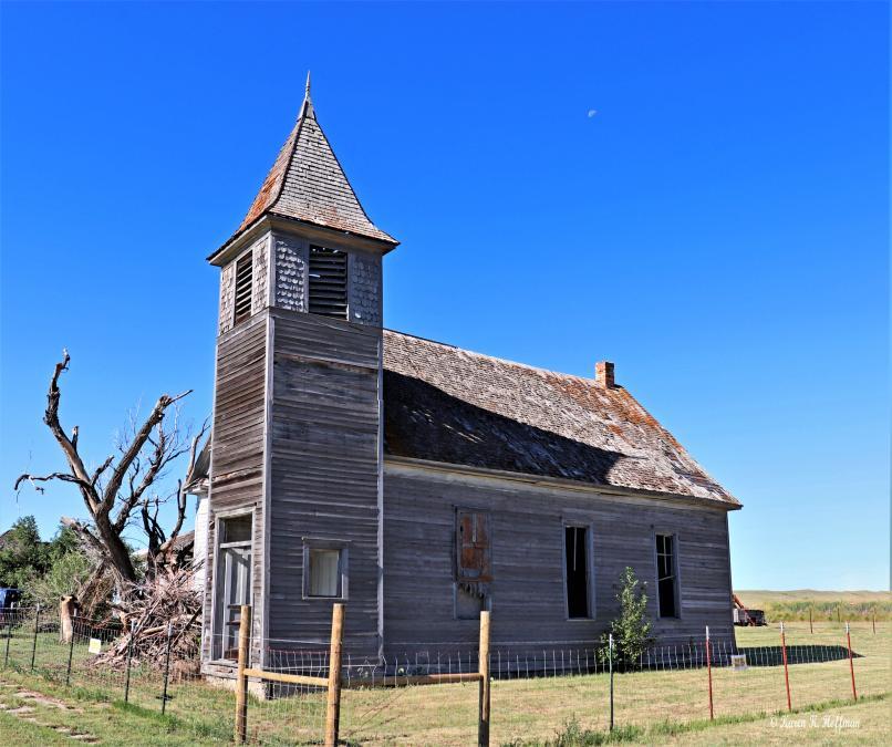 Abandoned Cottonwood Church