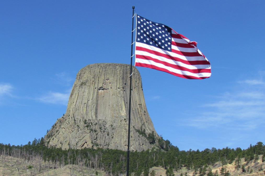 Devils Tower - America The Beautiful
