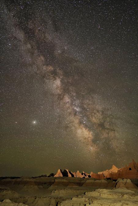Milky Way Through the Door
