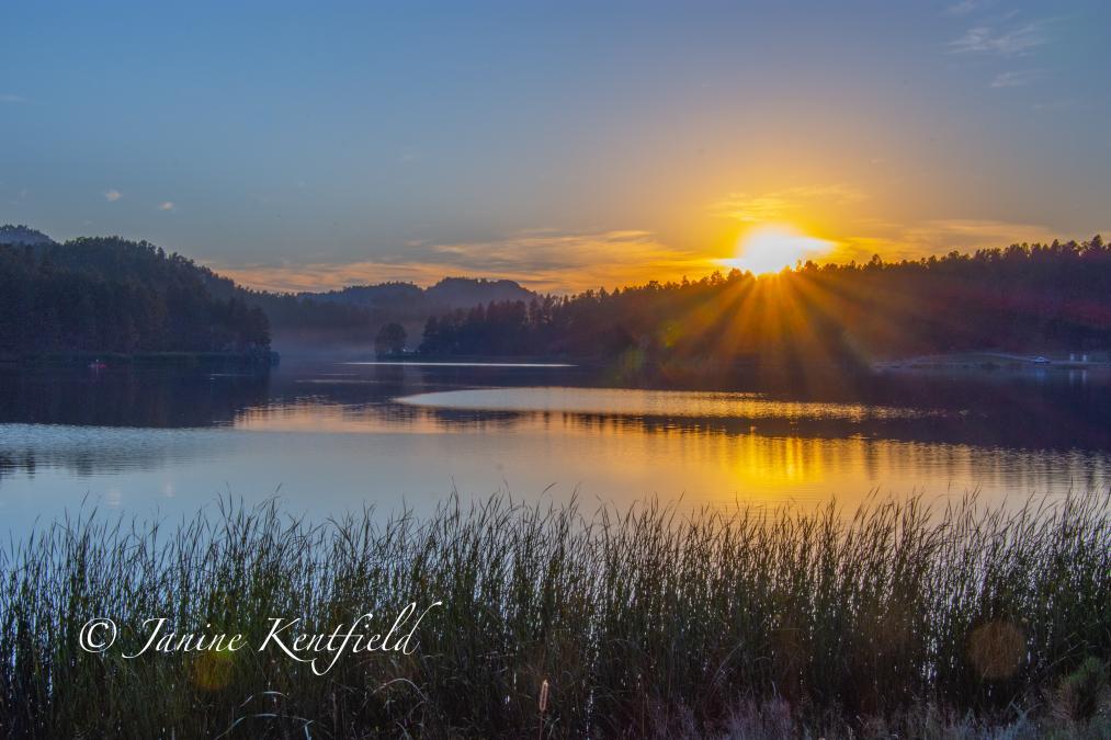 Sunset at Lake Stockade
