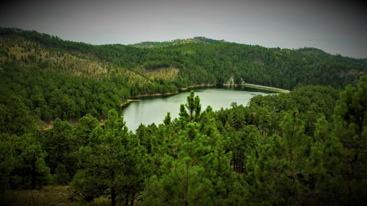 Above Center Lake