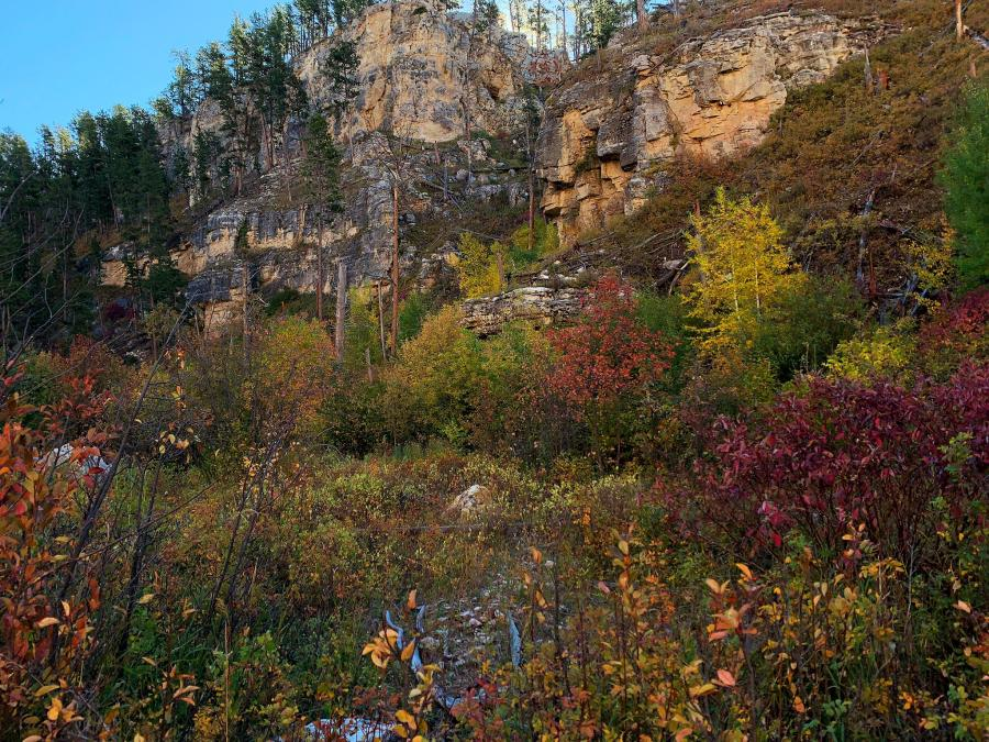 Fall Arrives in Hell Canyon