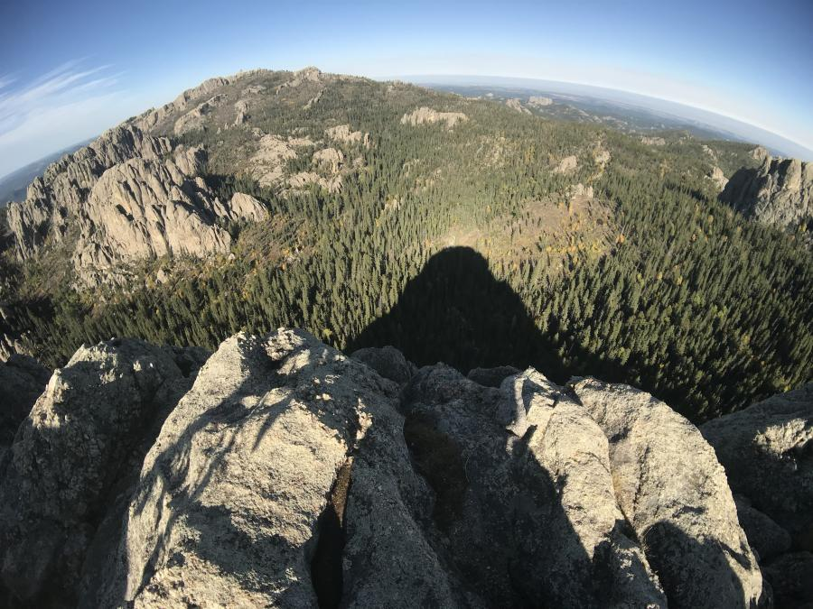 Mountain Shadow - So That's Why it's Called Little Devils Tower