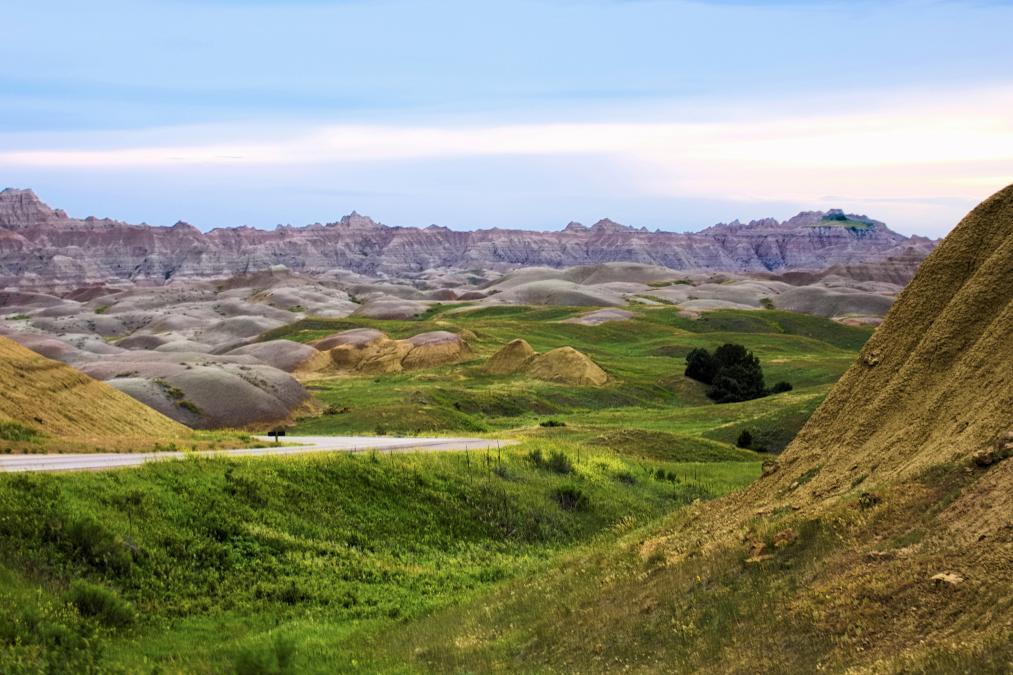Greening of the Badlands