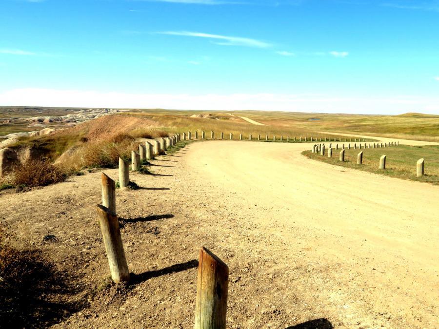 Badlands Long and Winding Road