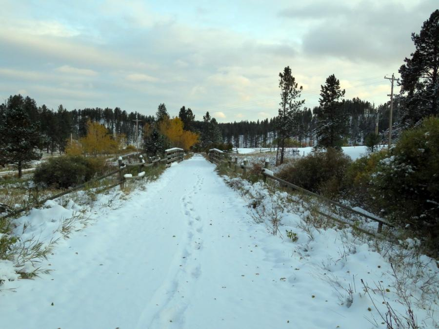 Guiding Footprints on the Mickelson Trail