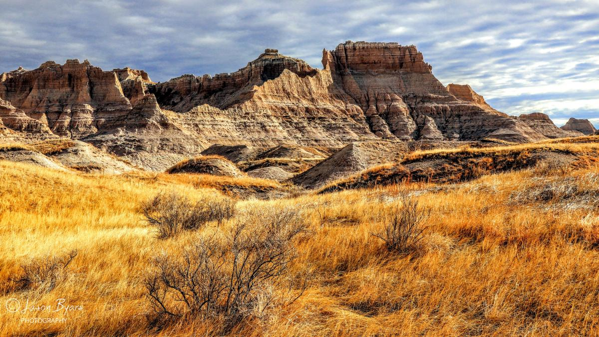 The Edge — Grasslands Meets Badlands