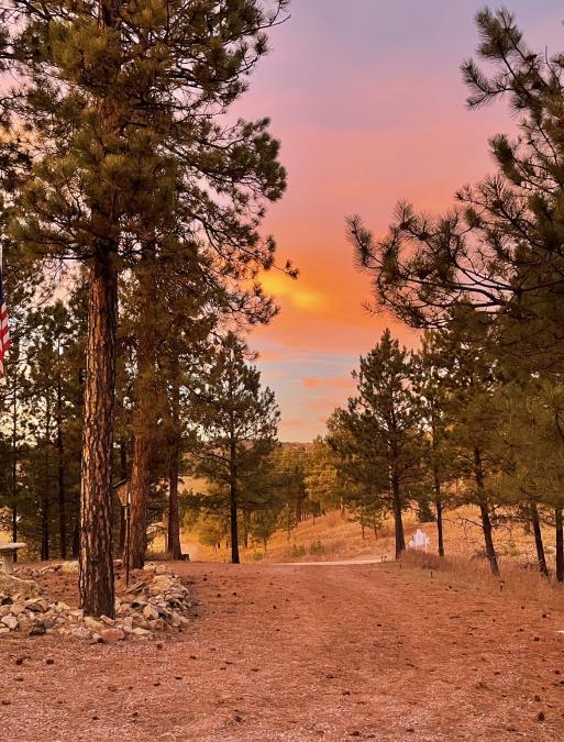 Sunset in Keystone