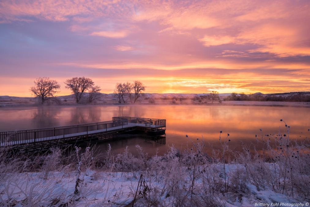 Sunrise at Cox Lake