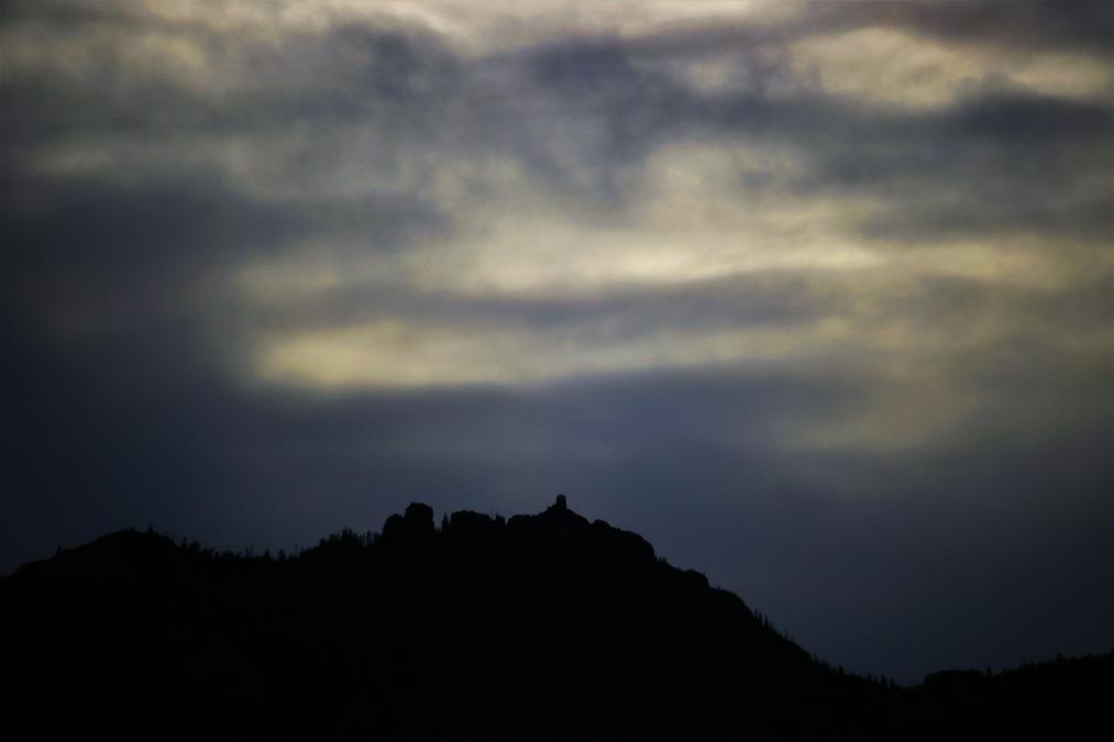 Black Elk Peak on an Eerie October Eve