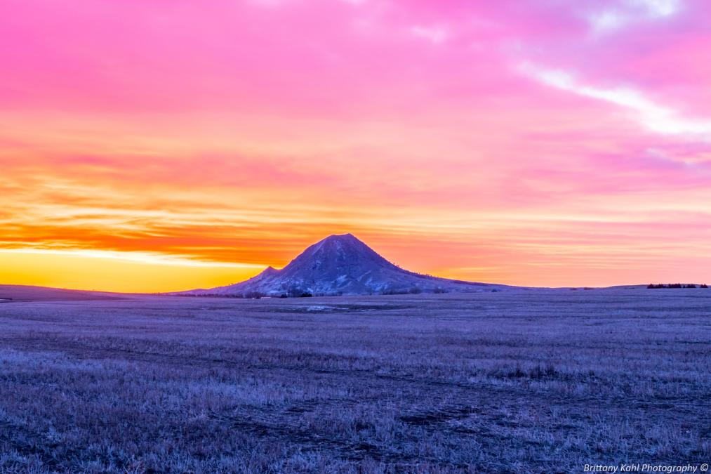 Good Morning Bear Butte