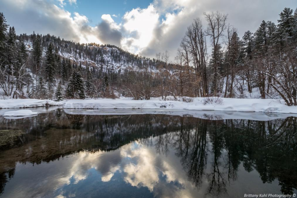 Spearfish Canyon Reflections