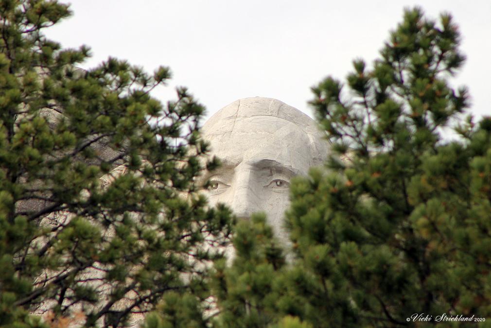 Presidential Peek-A-Boo