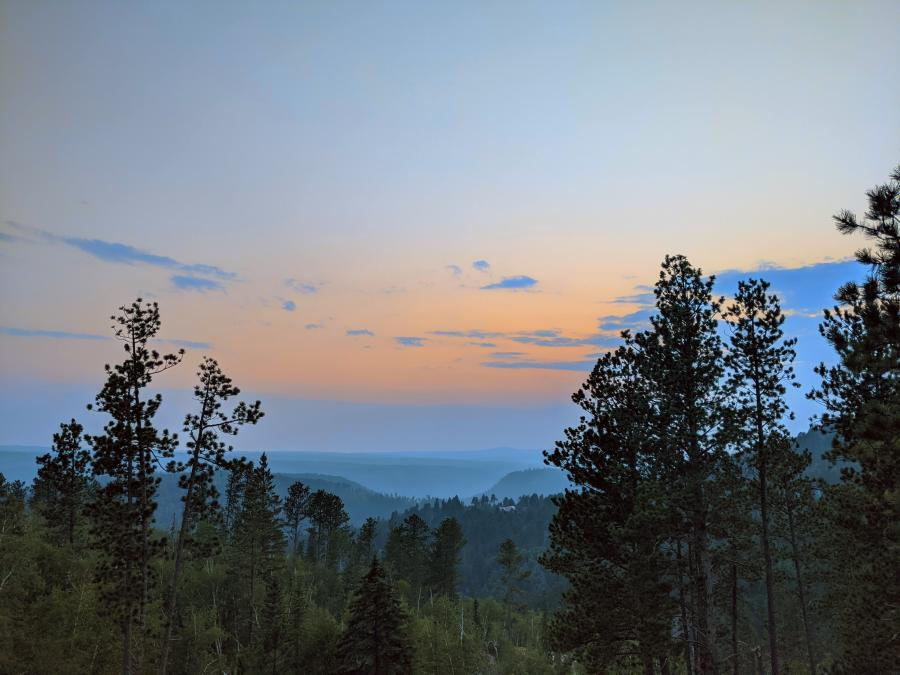 Terry Peak Sunset