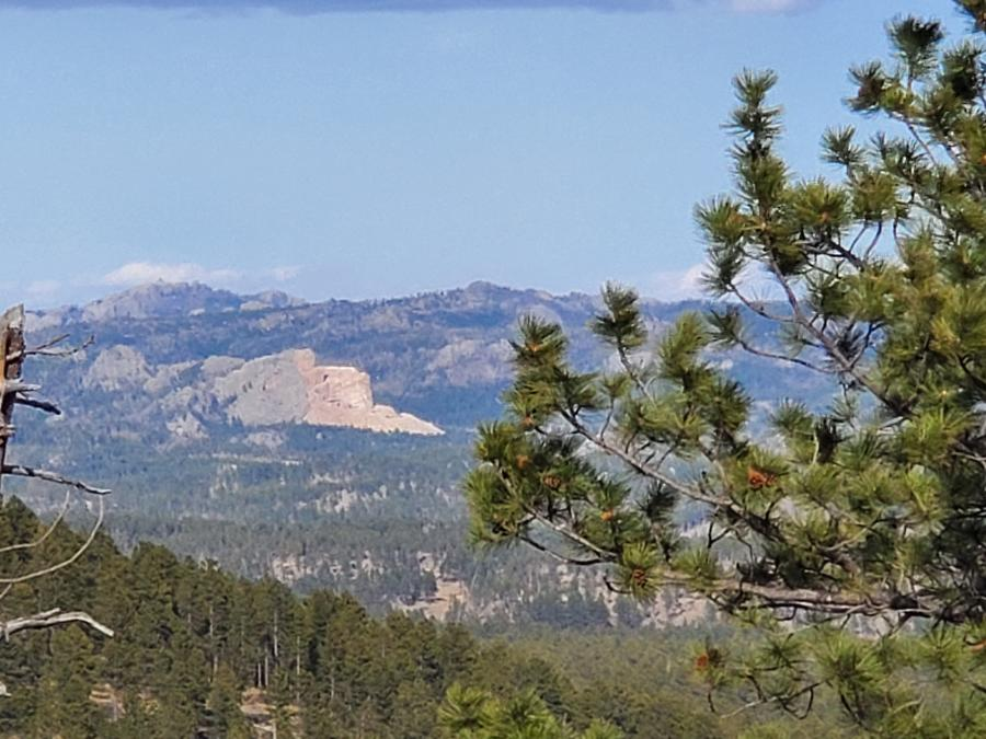 Crazy Horse From North Lightning Creek Road