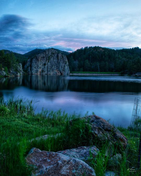 Legion Lake at Blue Hour