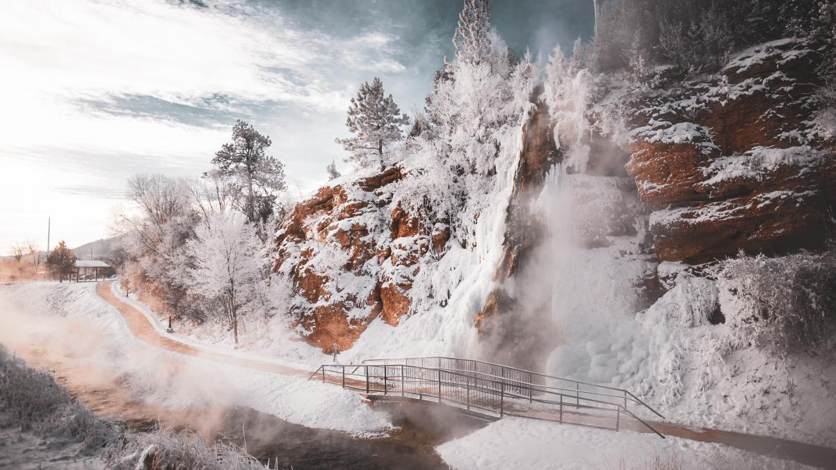 Hot Springs Falls
