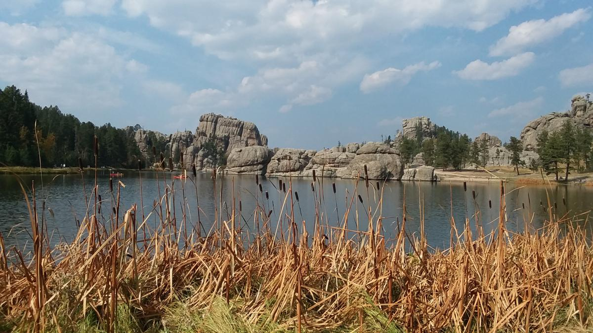 Fall Day at Sylvan Lake