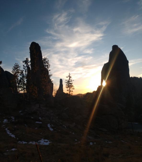 Eye of The Needle Sunset