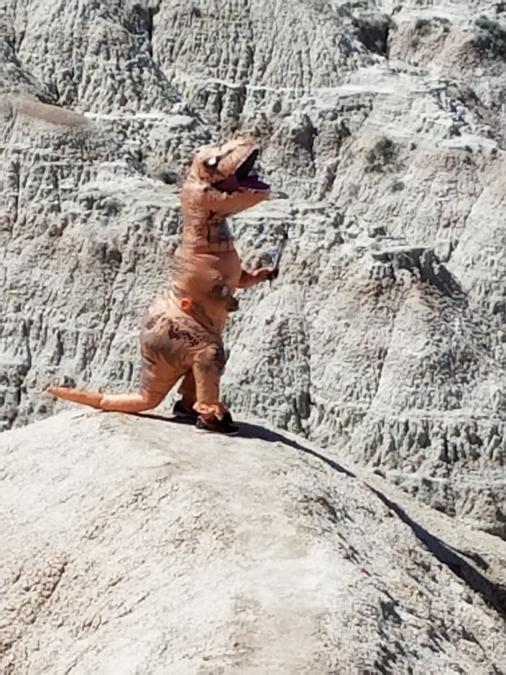 When Dinosaurs Roamed the Park