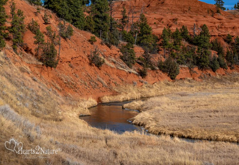 Beautiful Bend of the Belle Fourche River