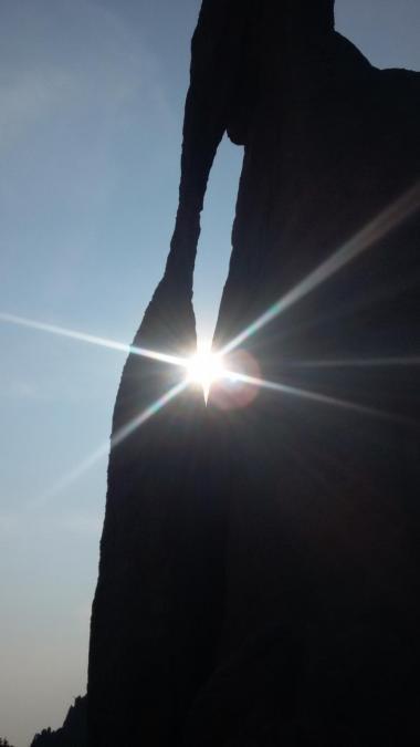 Sun in the Eye