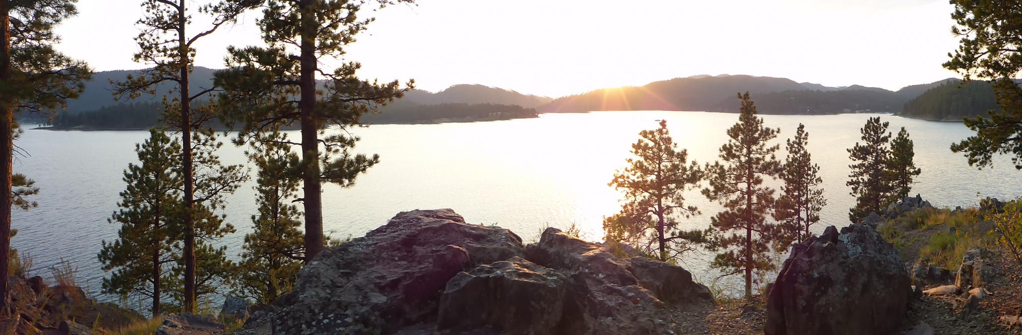 Pactola Reservoir Sunset