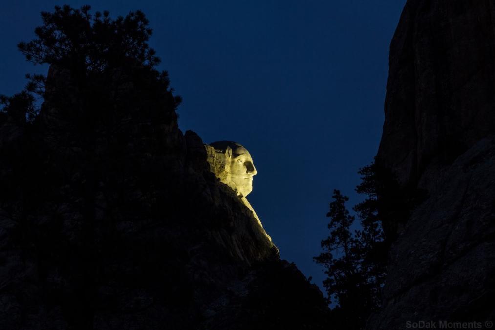 Profile View at Night