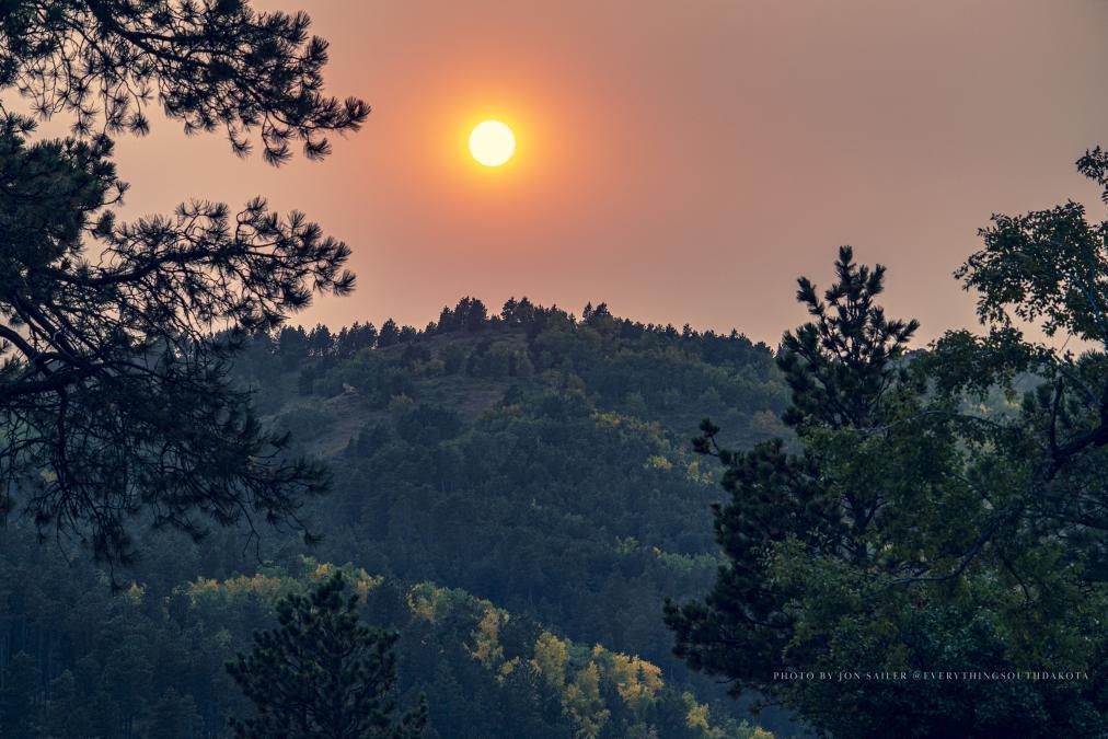 Sunset Over Deadwood