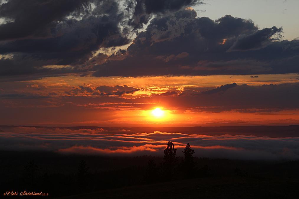 Cement Ridge Sunset