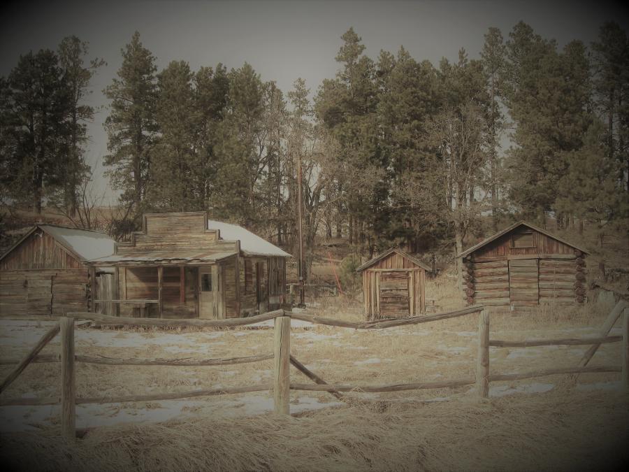 Rockerville ghost town