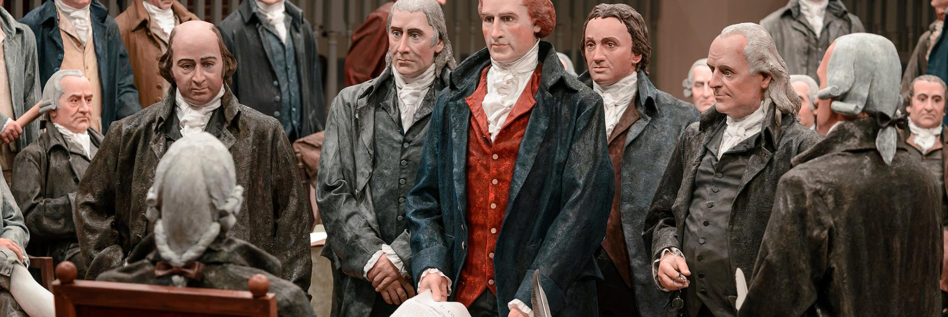 America's Founding Fathers Exhibit